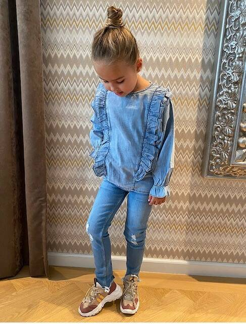 Kids Denim Blouse Roezel