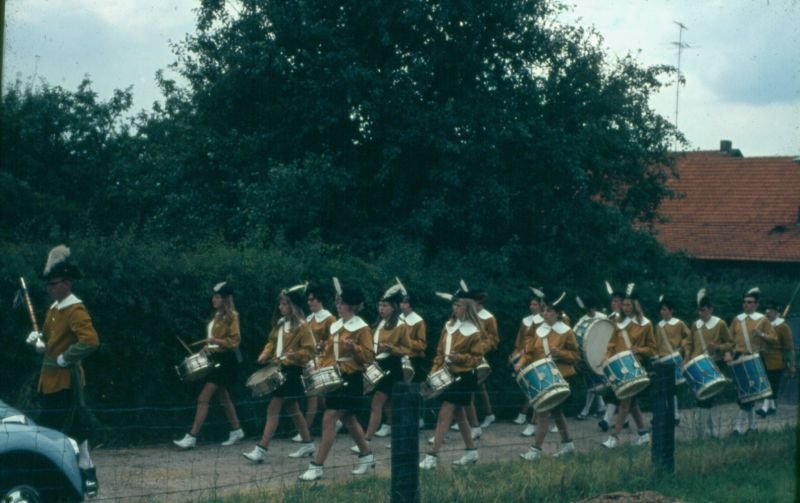Drumband gilde in Gassell