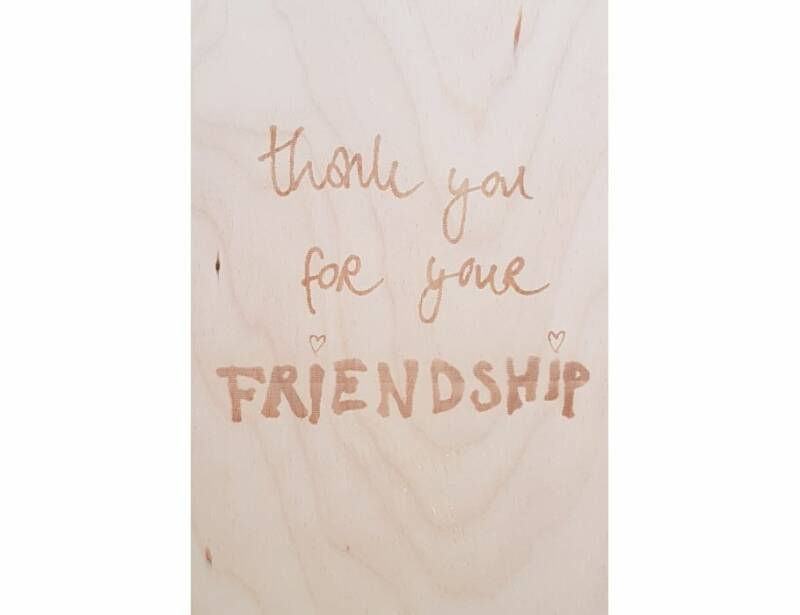 Thank you for your friendship - EG7340015600646
