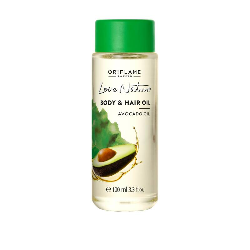 Love Nature Hair & Body Oil Avocado Oil - O34098