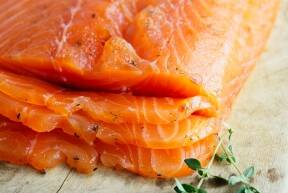 Gerookte zalm 1 persoon