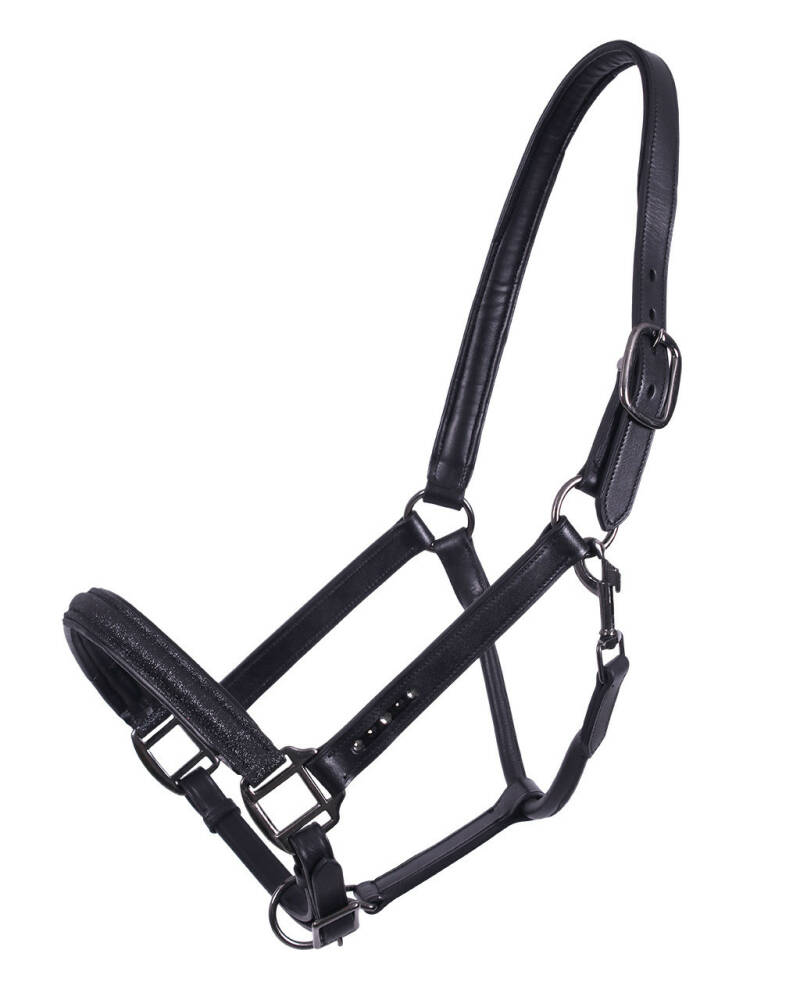 Head Collar Leather Shimmer