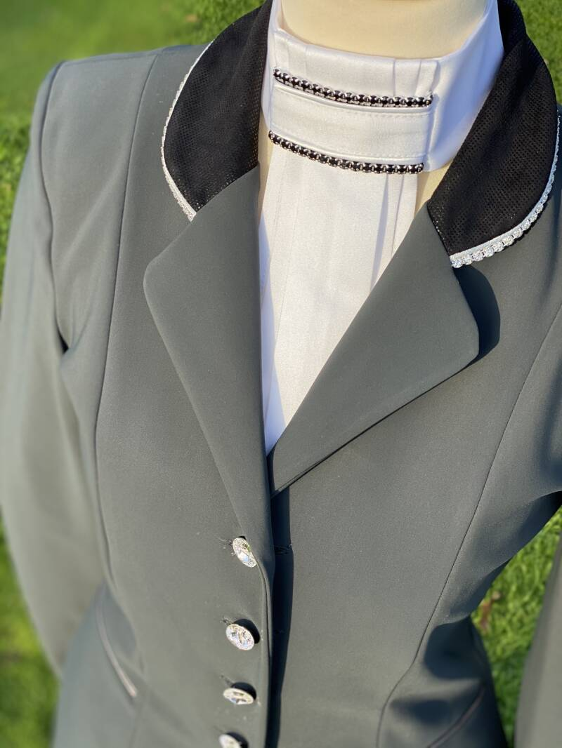Competition Jacket Sportive Grey Black