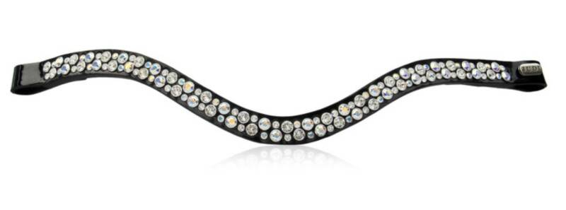 Judi Frontriem-Browband Famous II Odessa Double Crystal AB