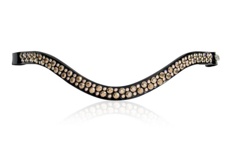 Judi Frontriem- Browband Famous II Odessa Double rose gold AB