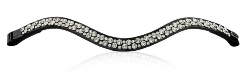 Judi Frontriem-Browband Famous II Odessa Double crystal clear