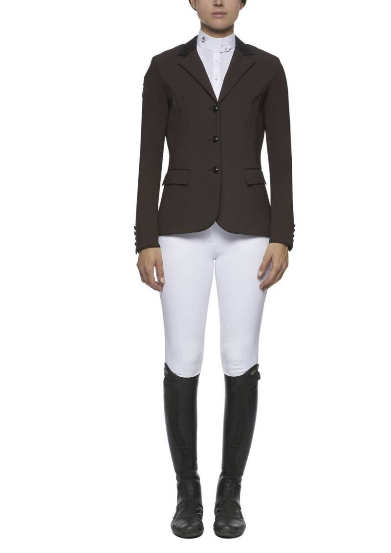Cavalleria Toscana competition riding jacket Brown