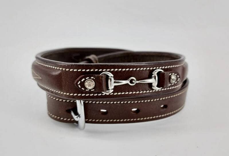 *NEW* Belt Snaffle Dark Brown
