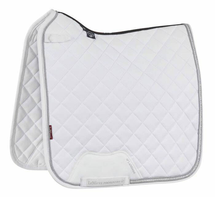 LeMieux Loire Diamante Dressage Square Wit