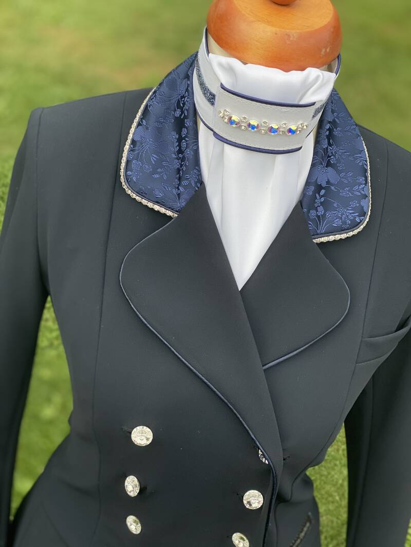 Tailcoat Dressage Frack LE Blue Flower