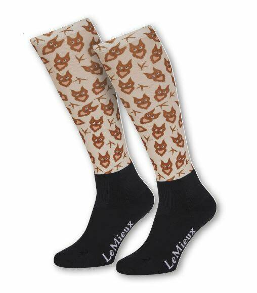 LeMieux Footsies Socks Owl