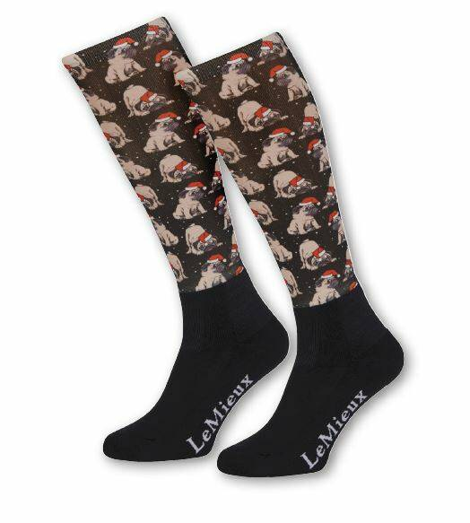 LeMieux Footsies Socks Pugs