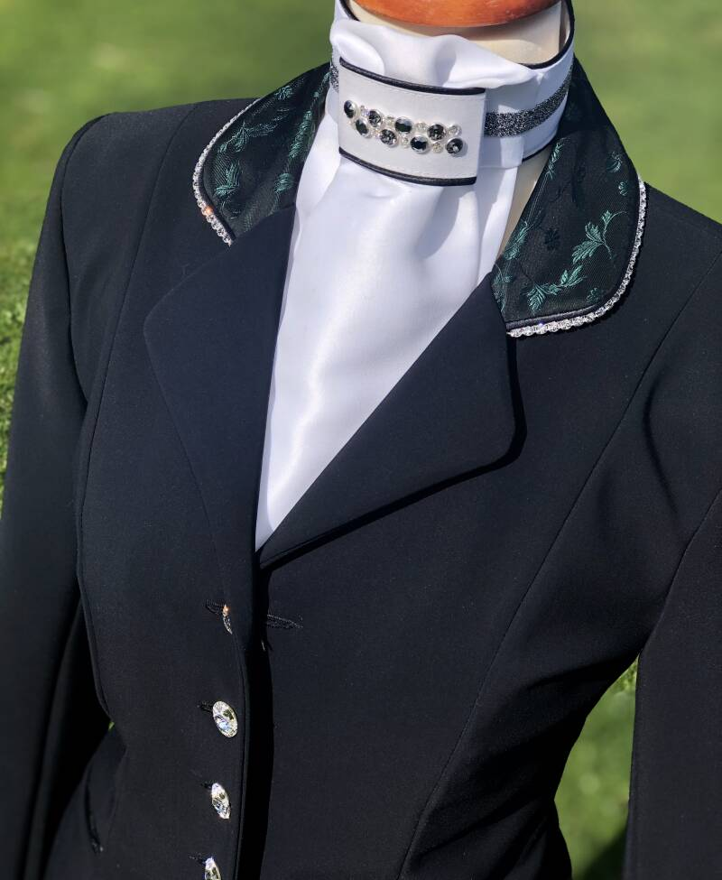 Competition Jacket Black Limited Edition Green
