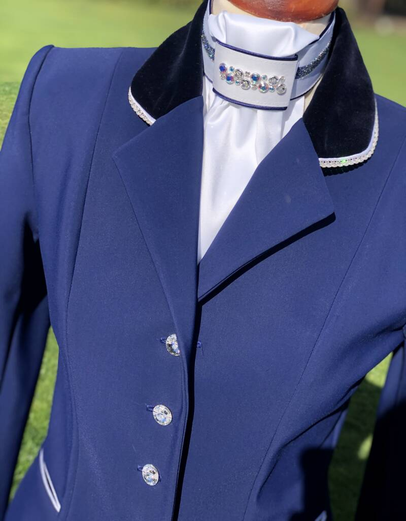 Competition Jacket Sportive Light Blue White