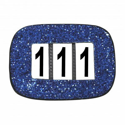 Competition Numbers Glitter Blue