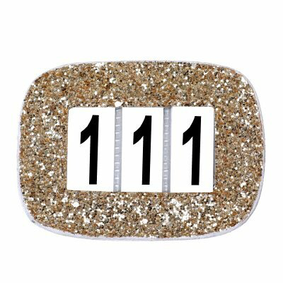 Competition Numbers Glitter Gold