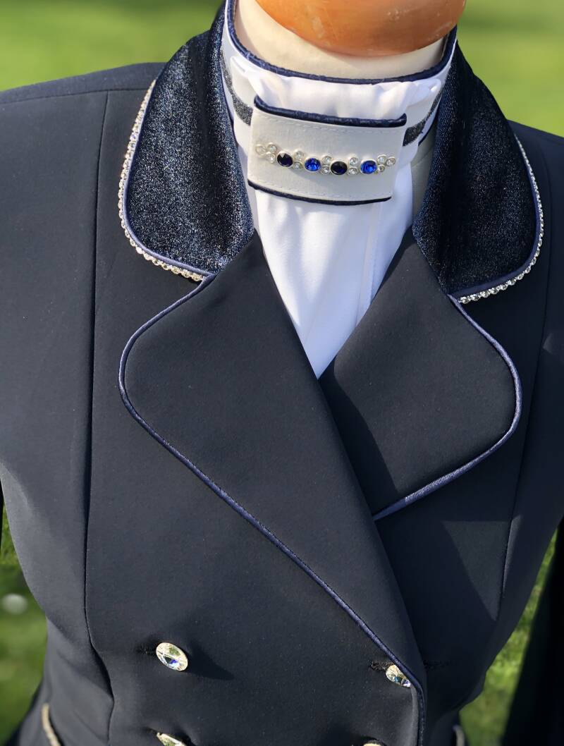 Tailcoat Dressage Frack Blue Limited Edition Diamond