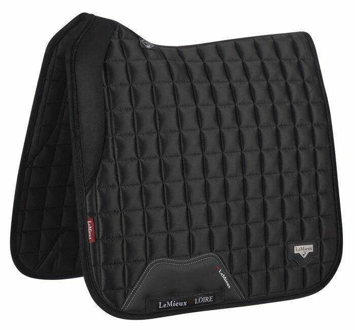 LeMieux Loire Memory Satin Dressage Square Black