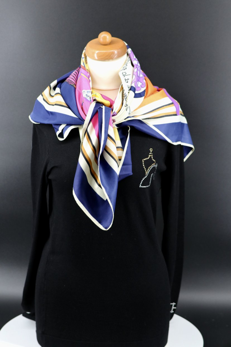 Scarf Equestrian Silk 2 colors