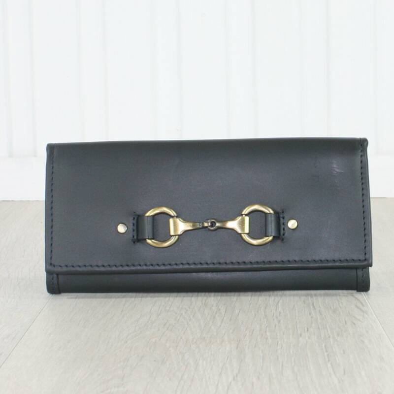 Equestrian Lily Purse Navy