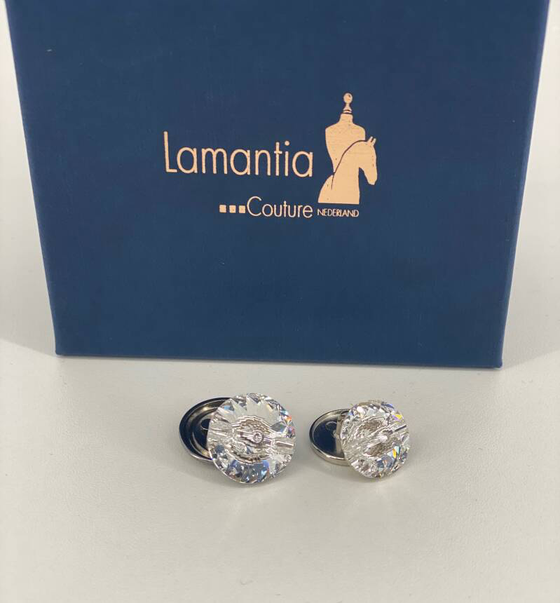 Swarovski Buttons with back Special for Lamantia Jackets Set
