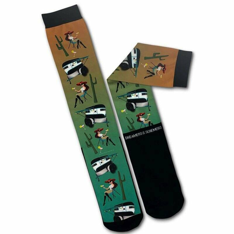 Equestrian Socks HSPC Horse and Chill
