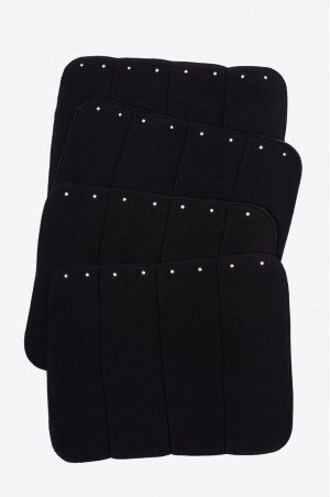 Bandage pads Crystal black and white