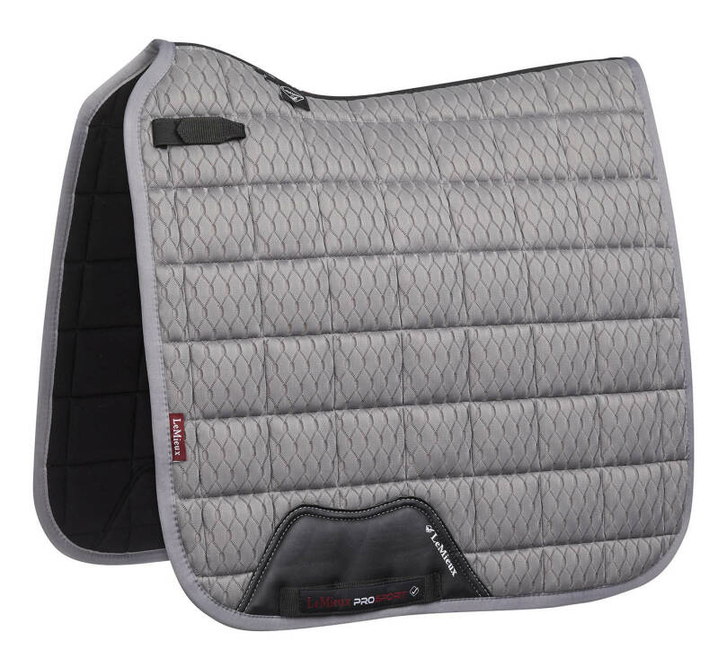 LeMieux Carbon Mesh Air Dressage Grey