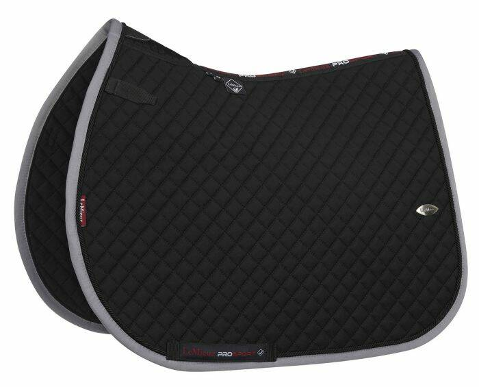 LeMieux Wither Relief Mesh Jumping Black