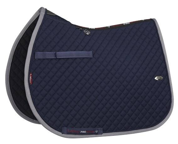 LeMieux Wither Relief Mesh Jumping Navy