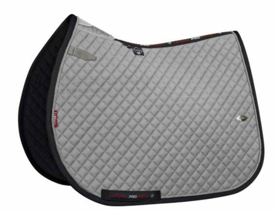 LeMieux Wither Relief Mesh Jumping Pad Grey