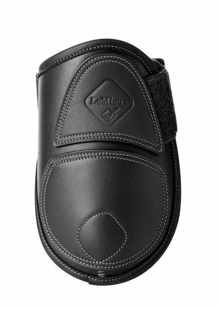 LeMieux Capella Leather Fetlock Boots Black