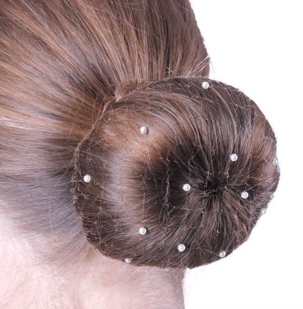 Equestrian Hairnet Invisible Pearl 3 colors