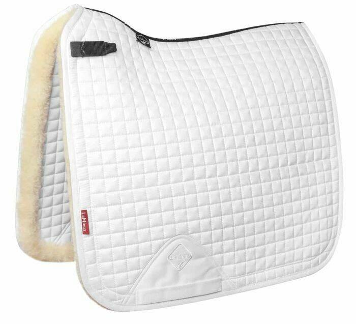 Uitverkocht Le Mieux Sensitive Dressage Square white