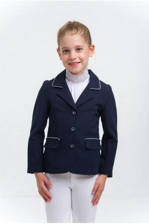 Cavalliera Riding Show Jacket Crystal Purity Kids Blue