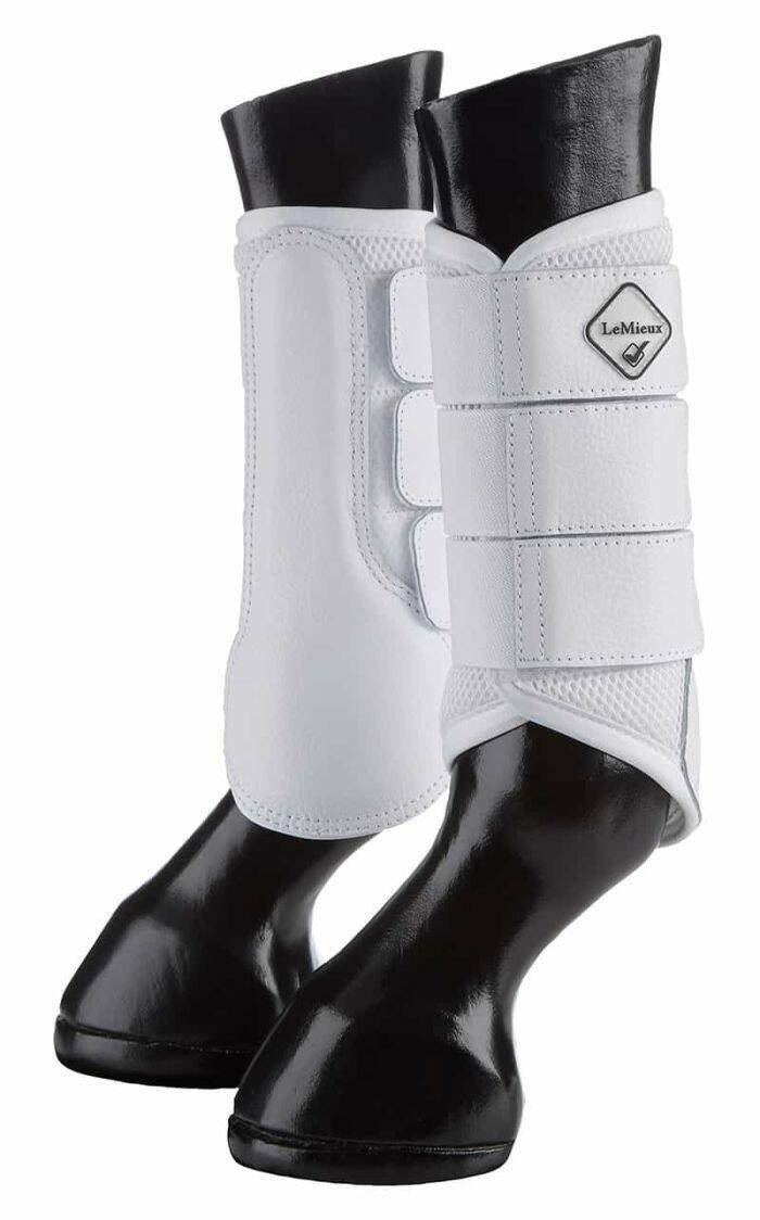 Le Mieux Mesh Brushing Boots White