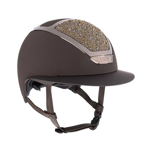 Kask Star Lady Swarovski on the rocks Gold