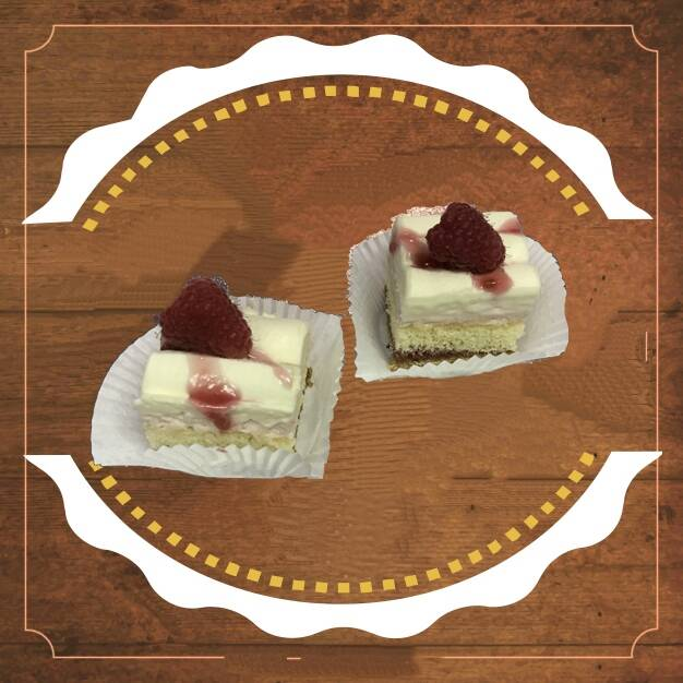 Frambozen Witte Chocolade Petits Fours