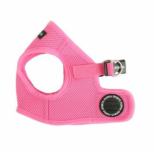 Puppia Soft Vest Harness model B Pink