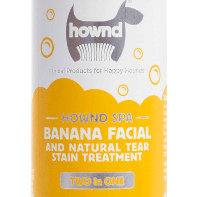 Hownd - Banana Facial & Natural Tear Stain Treatment 250 ml