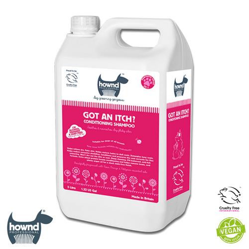 Hownd - Got an Itch? Natural Conditioning Shampoo 25:1 (5L)