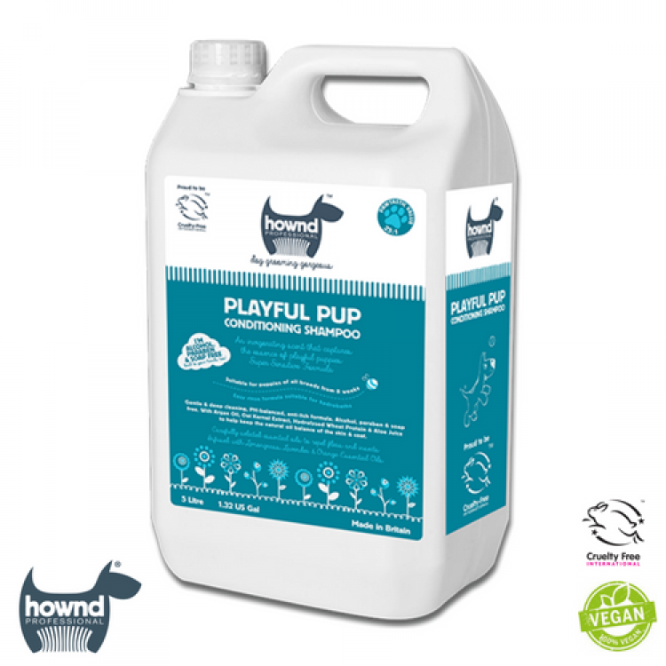 Hownd - Playful Pup Natural Conditioning Shampoo 25:1 (5L)
