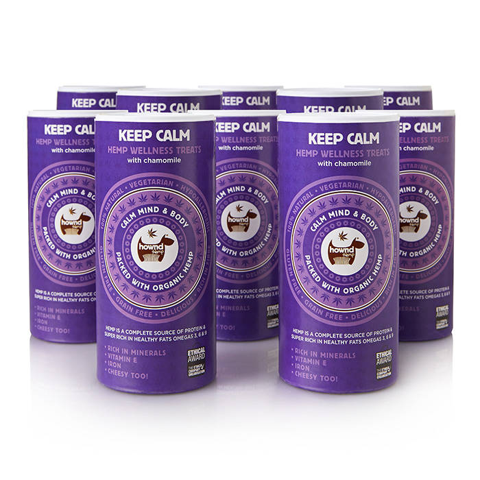 Keep Calm Hemp Wellness Treats (130g)