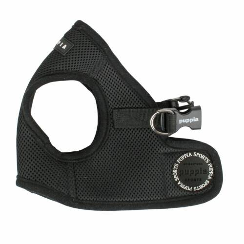 Puppia Vest Harness model B Black