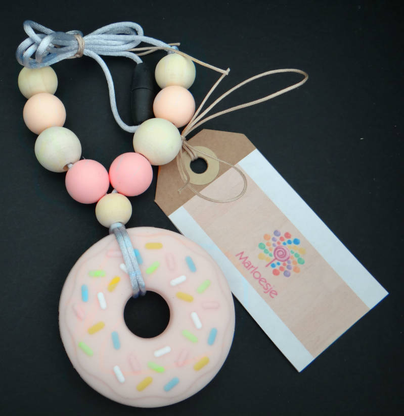 Voedingsketting Roze Donut