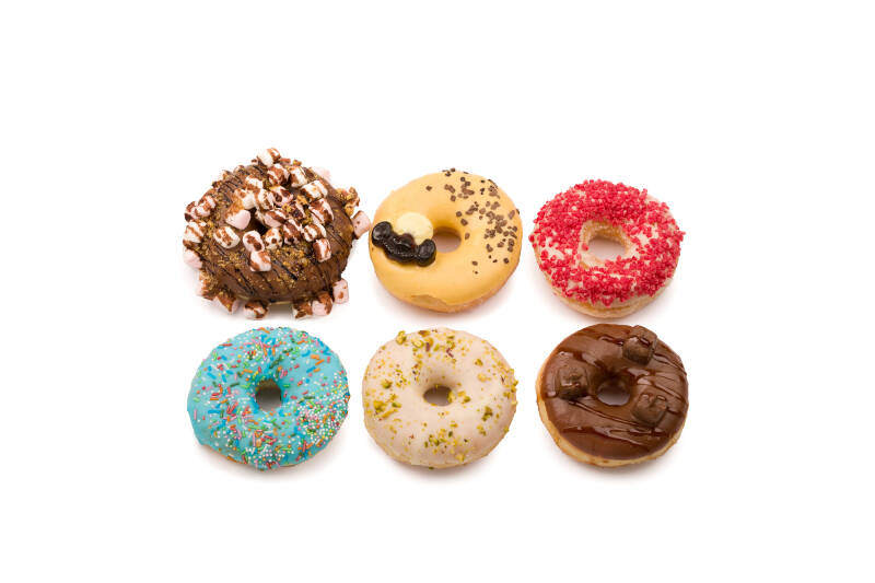Luxe Donuts Box 6