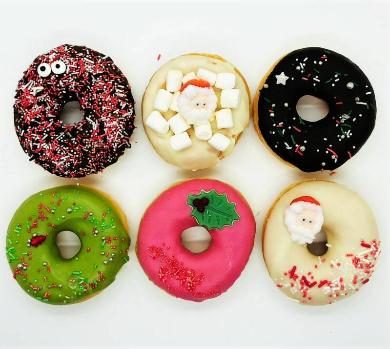 Kerst Donuts 6