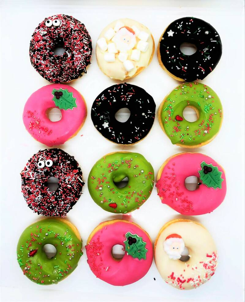 Kerst Donuts 12