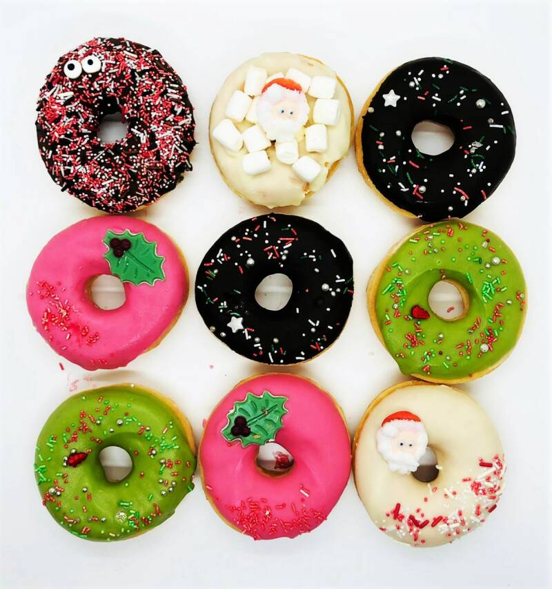 Kerst Donuts 9