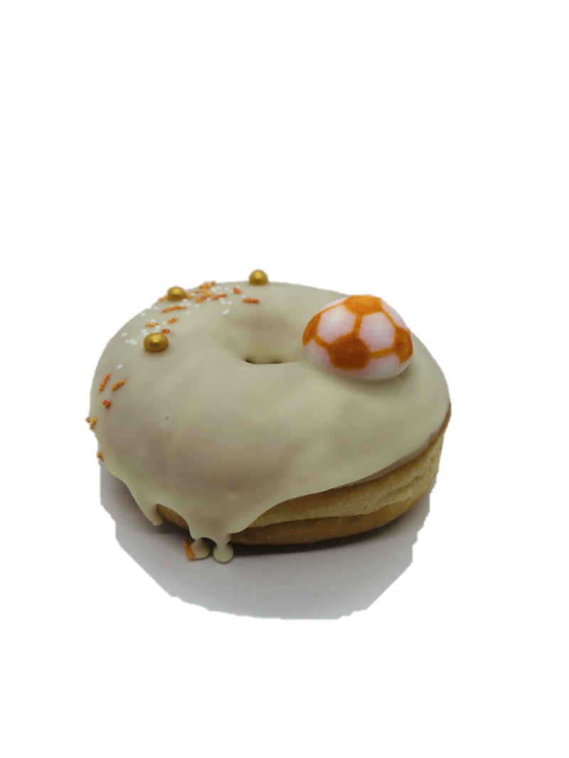 Euro 2020 Donuts wit